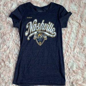 women's nashville all star t shirt